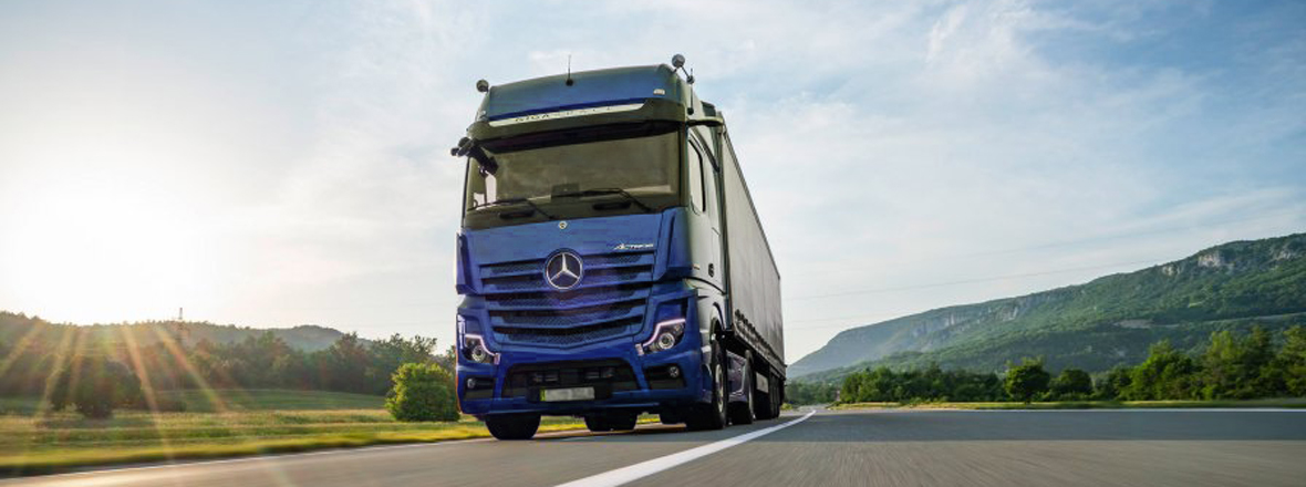 Like the previous version, the front axles of the new Actros will have Fersa bearings.