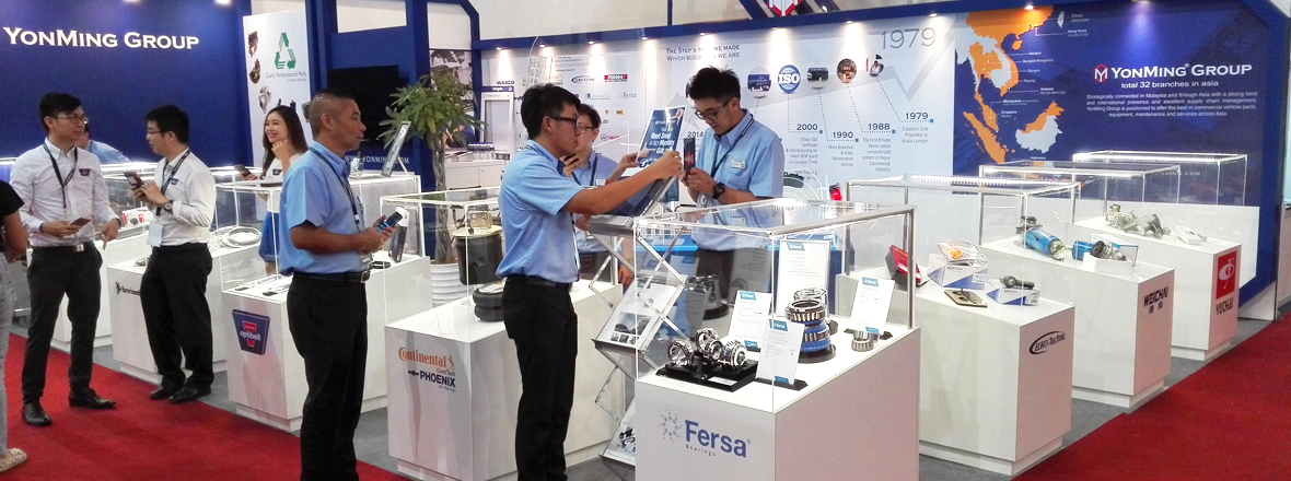Fersa takes part at the most important commercial vehicle trade show in South East Asia, MCVE.