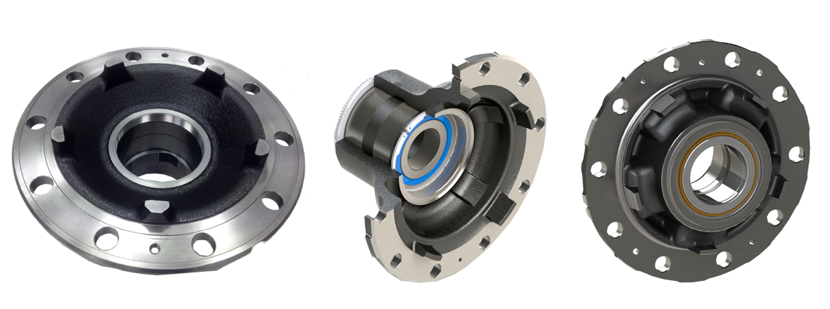 The preset hub assemblies family grows for Scania and Volvo applications